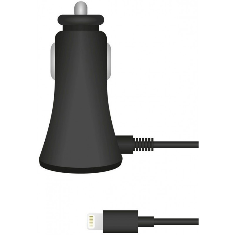 Muvit Car Charger SQ Lightning 2.1A Black