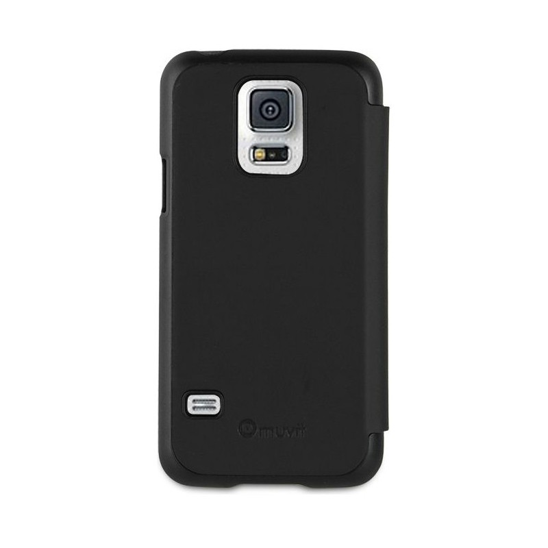 Muvit Easy Folio Book case Galaxy S5 Mini Black