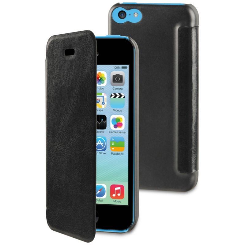 Muvit Easy Folio Book Case iPhone 5C zwart