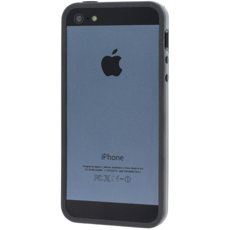 Muvit iBelt Bumper Case iPhone 5(S) zwart