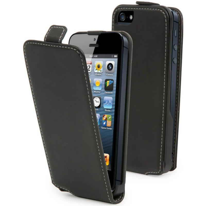 Muvit Slim Case iPhone 5 / 5S Black