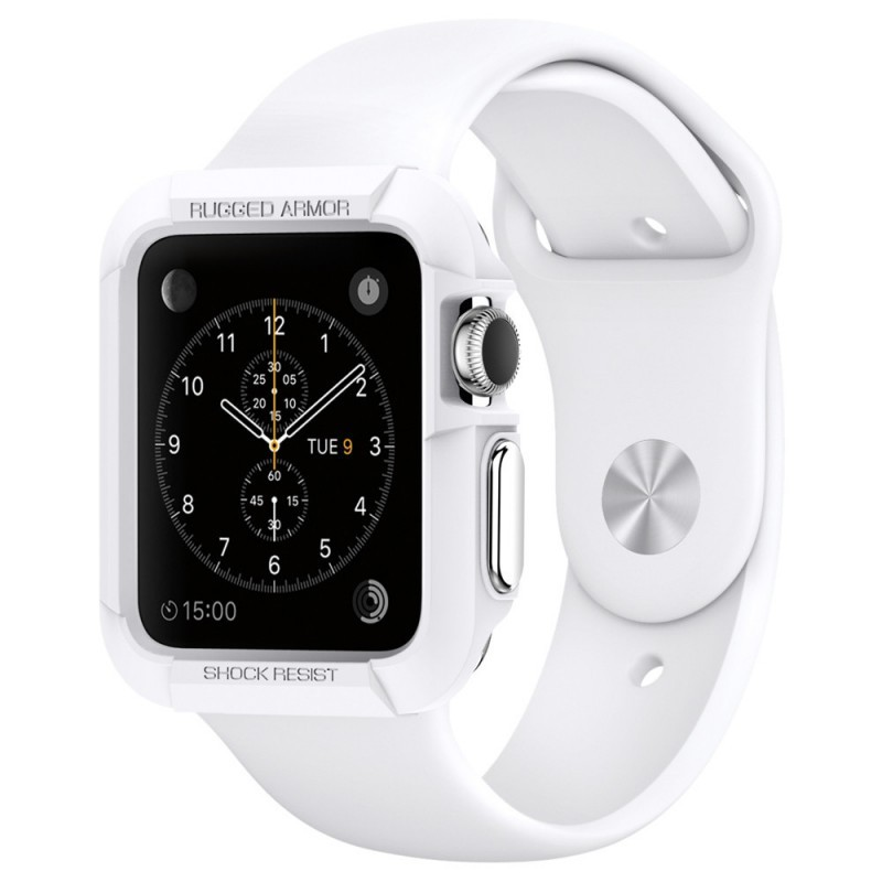 Spigen Rugged Armor Apple Watch 38mm wit