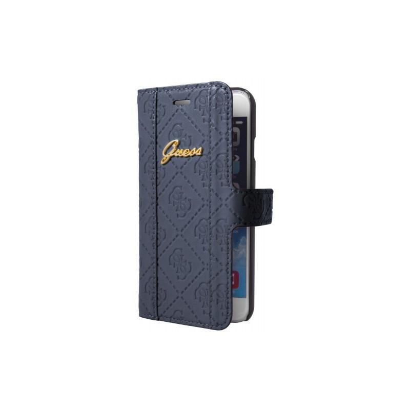 Guess Scarlett Galaxy S5 Folio Case Blueberry