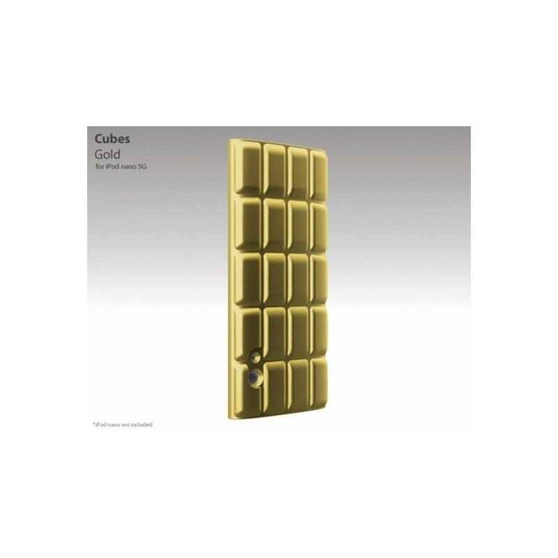 Cubes iPod Nano 5G Gold