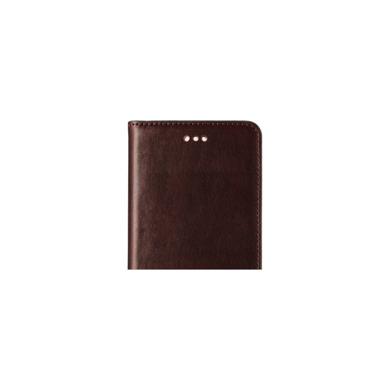 Melkco Herman iPhone 5 / 5S Book Case Italian Coffee