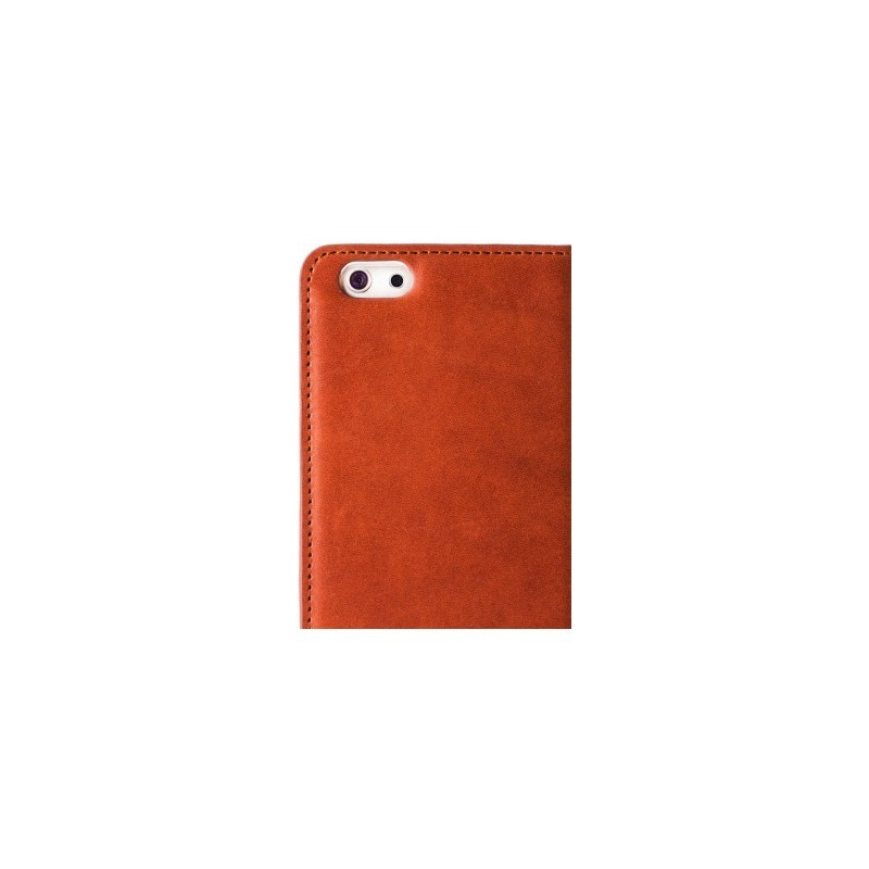 Melkco Herman iPhone 5(S)/SE Book Case Italian Orange