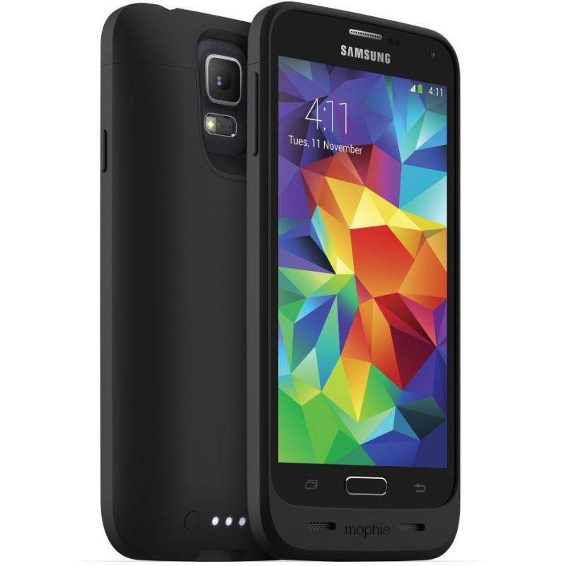 Mophie juice pack Galaxy S5 zwart