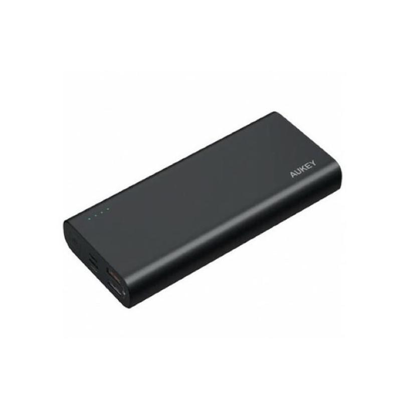 Aukey Powerbank 20.000 mAh zwart