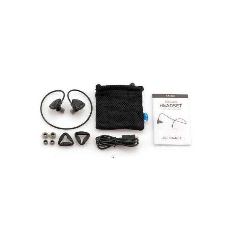 Avanca D1 Bluetooth Headset Zwart