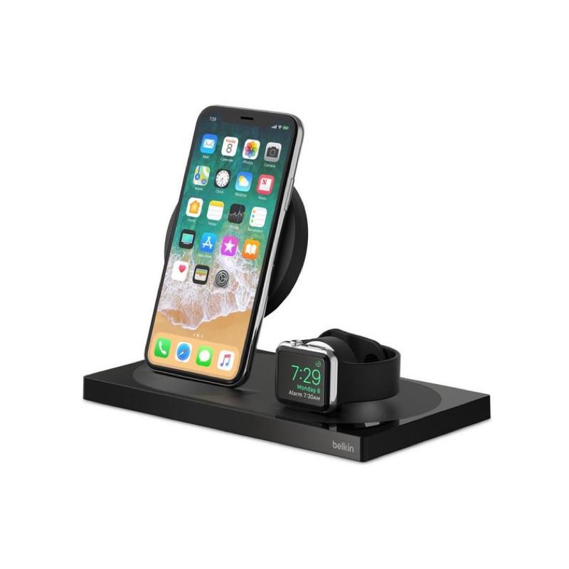 Belkin 7.5W Charge Dock Apple Watch / iPhone zwart