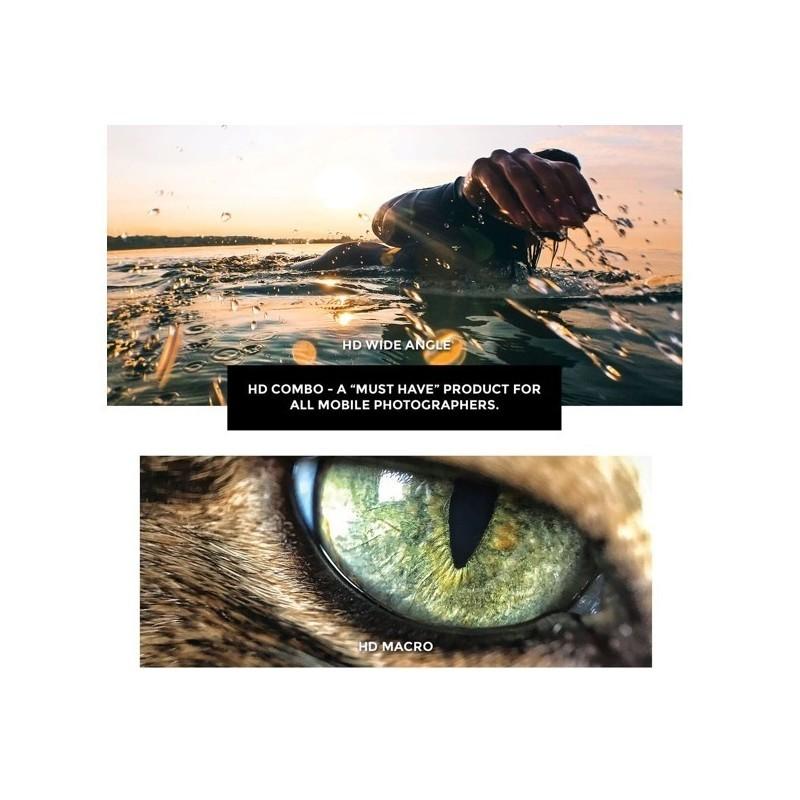 Black Eye HD Combo: HD Wide Angle + HD Macro details