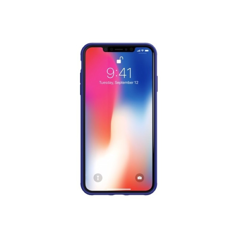 Adidas SP Grip Case iPhone XS Max blauw