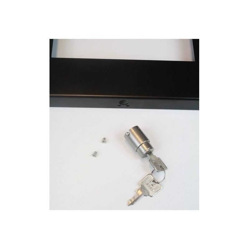Tablet pushlock RVS slot voor standaarden
