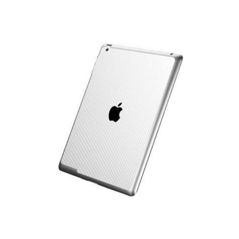 Spigen Skin Guard Carbon iPad 3/4 wit