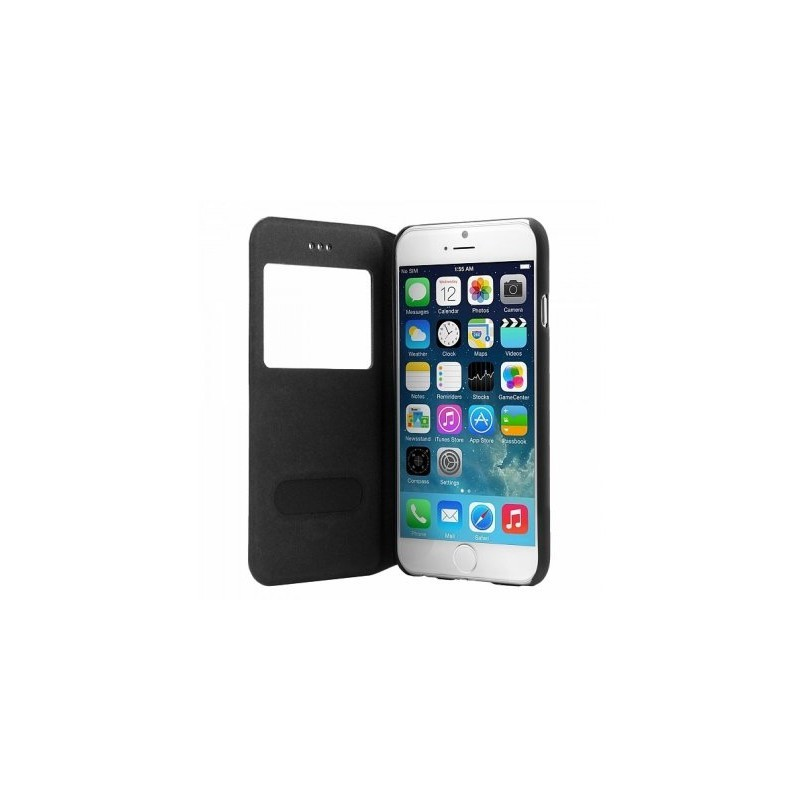Bugatti Bookcase Lausanne iPhone 6(S) zwart