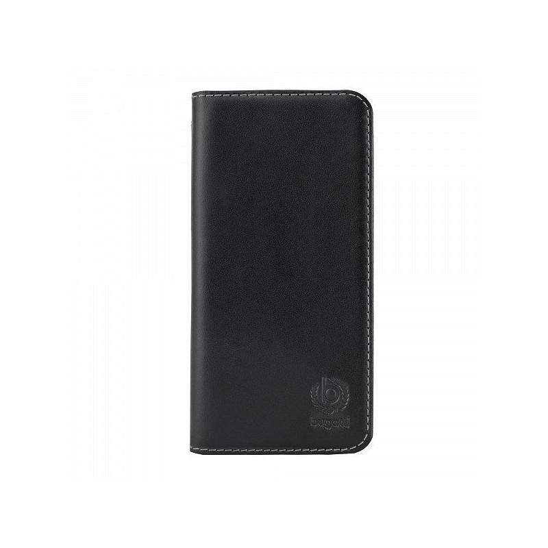 Bugatti BookCover Oslo leer iPhone 6 zwart