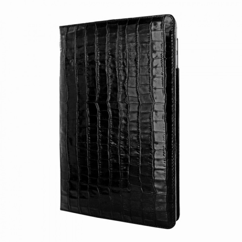 Piel Frama Cinema Folio iPad Air 2 Crocodile zwart