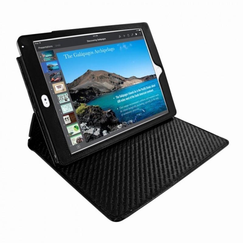 Piel Frama Cinema Folio iPad Air 2 Crocodile zwart