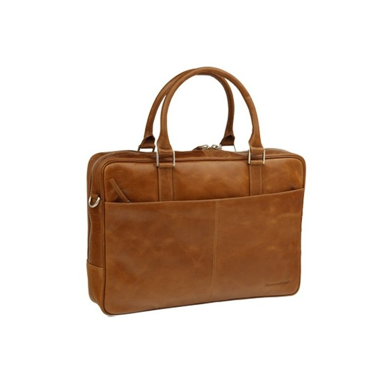 "DBramante1928 leren business bag 16"" Rosenborg bruin"