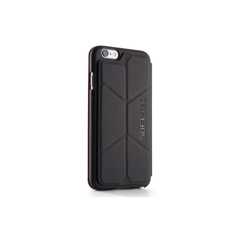 Element Case SoftTec iPhone 6/6s zwart/rood