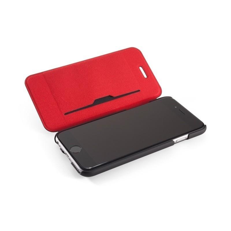 Element Soft-Tec Wallet iPhone zwart/rood