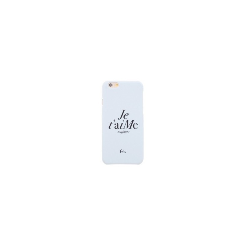 Fab. Je t`aime Hard Case iPhone 6(S) wit