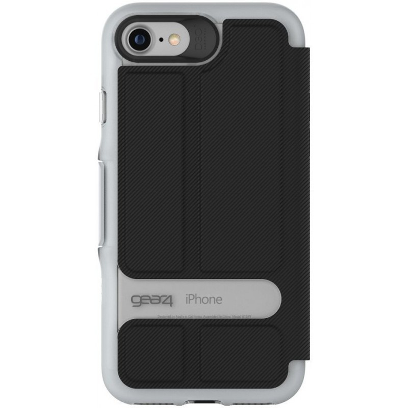 GEAR4 Oxford iPhone 7 zwart/zilver