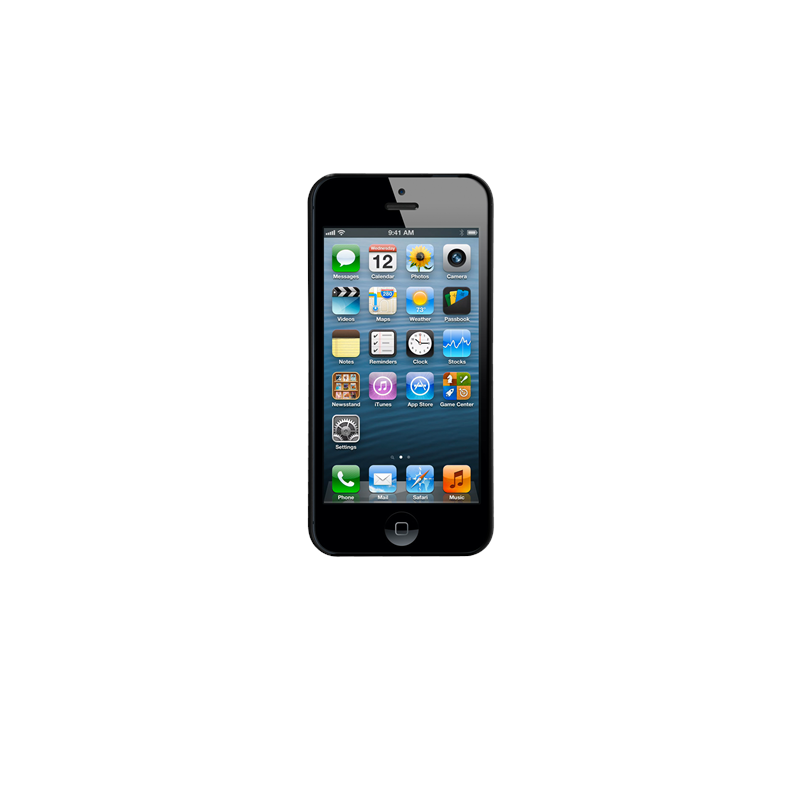 Case-Mate Barely There iPhone 5(S)/SE zwart