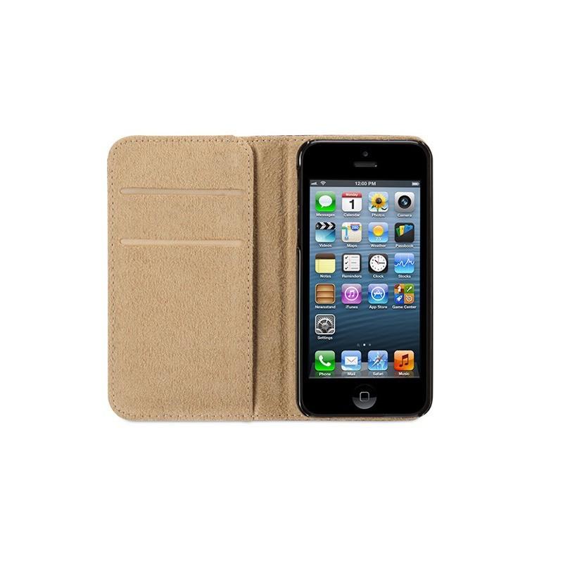 Griffin Passport Wallet Case iPhone 5(S)/SE zwart