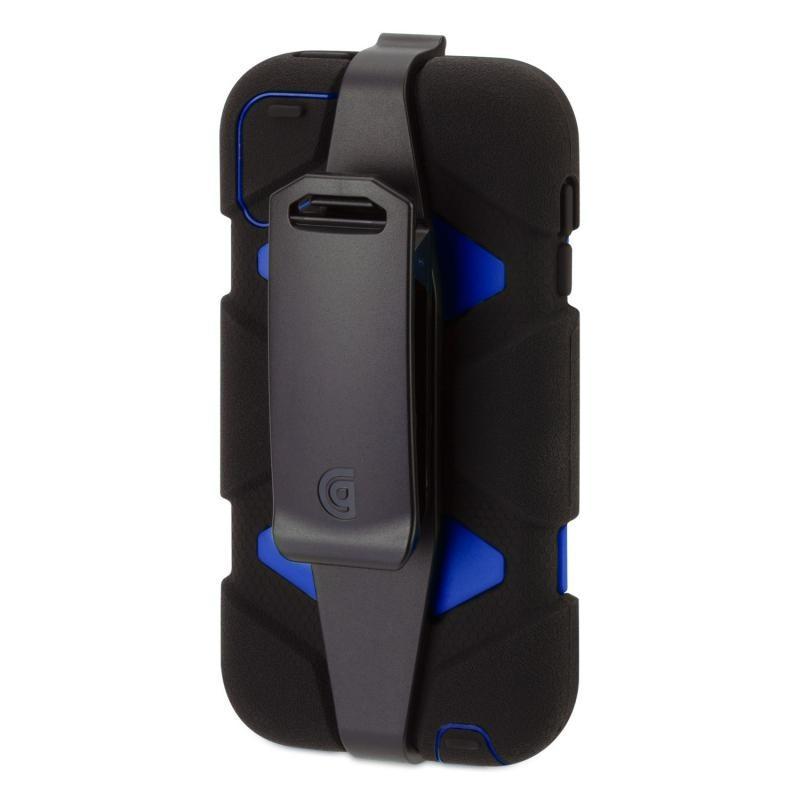 Griffin Survivor hardcase iPod Touch 5/6 blauw/zwart