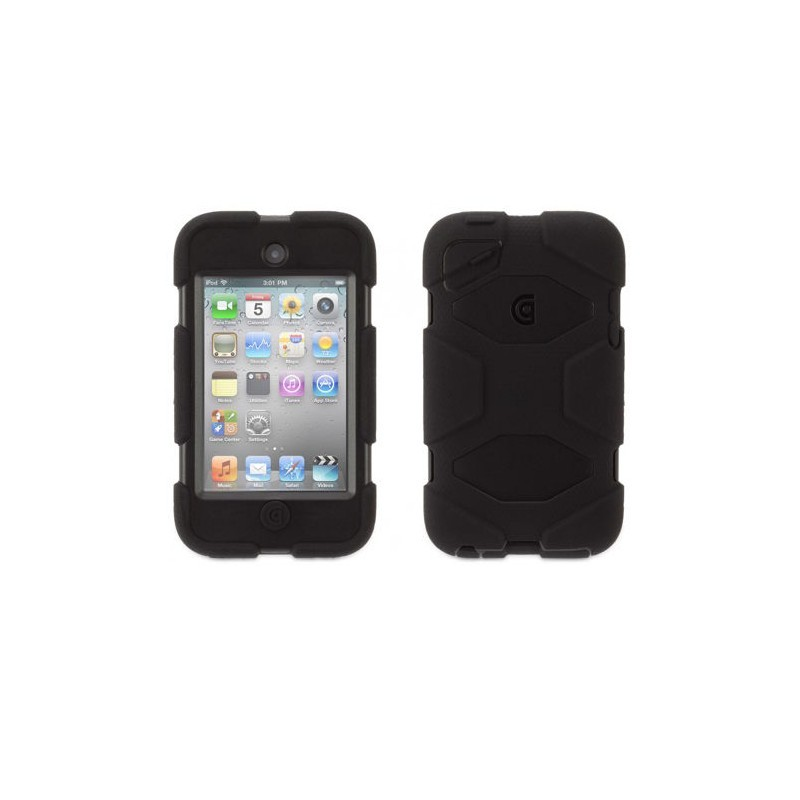 Griffin Survivor Hardcase iPod Touch 4G zwart