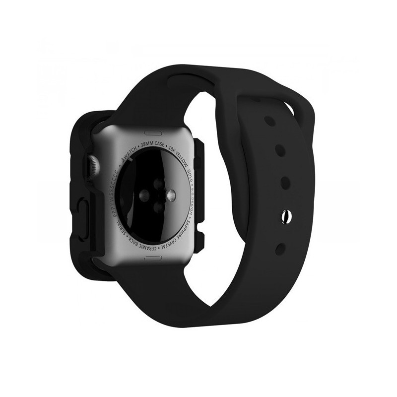 Griffin Survivor Apple Watch Case 38mm zwart