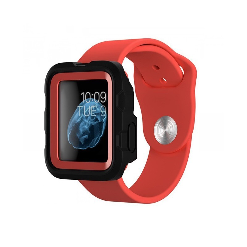 Griffin Survivor Apple Watch Case 42mm rood