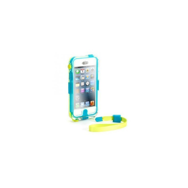 Griffin Catalyst Waterproof hardcase iPhone 5(S)/SE turquoise