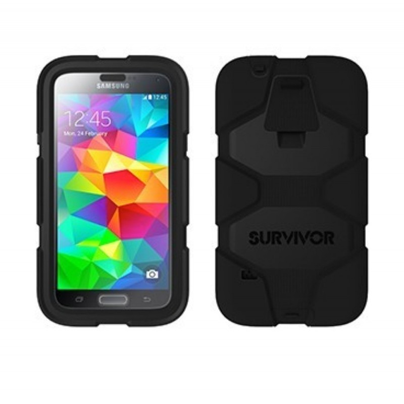 Griffin Survivor Extreme Duty hardcase Galaxy S5 zwart (GB38929)