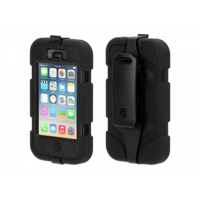 Griffin Survivor Extreme Duty hardcase iPhone 4(S) zwart (GB35095)