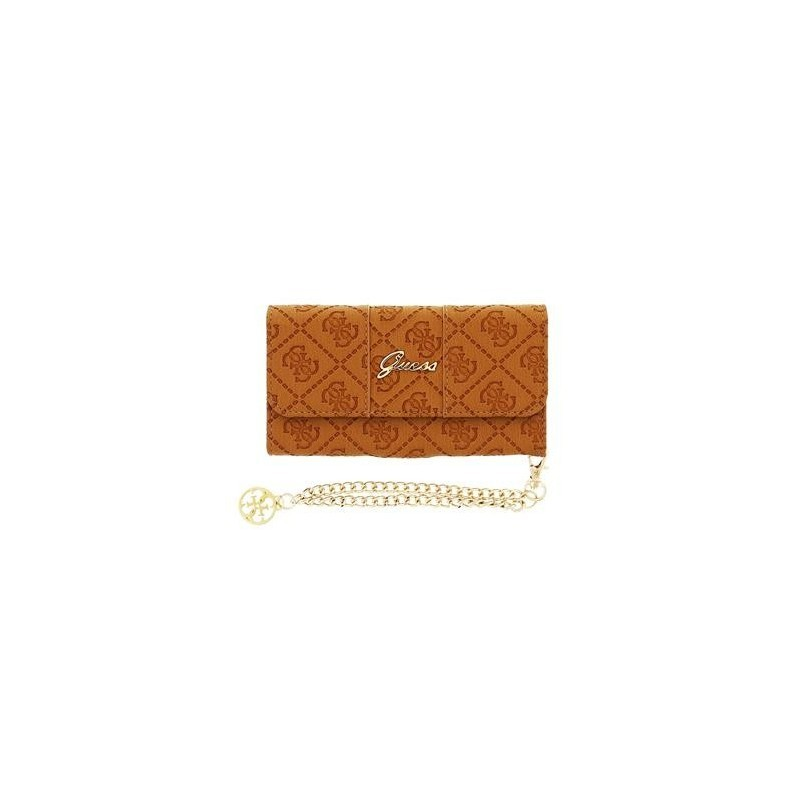 Guess Scarlett iPhone 6 / 6S Clutch Case Cognac