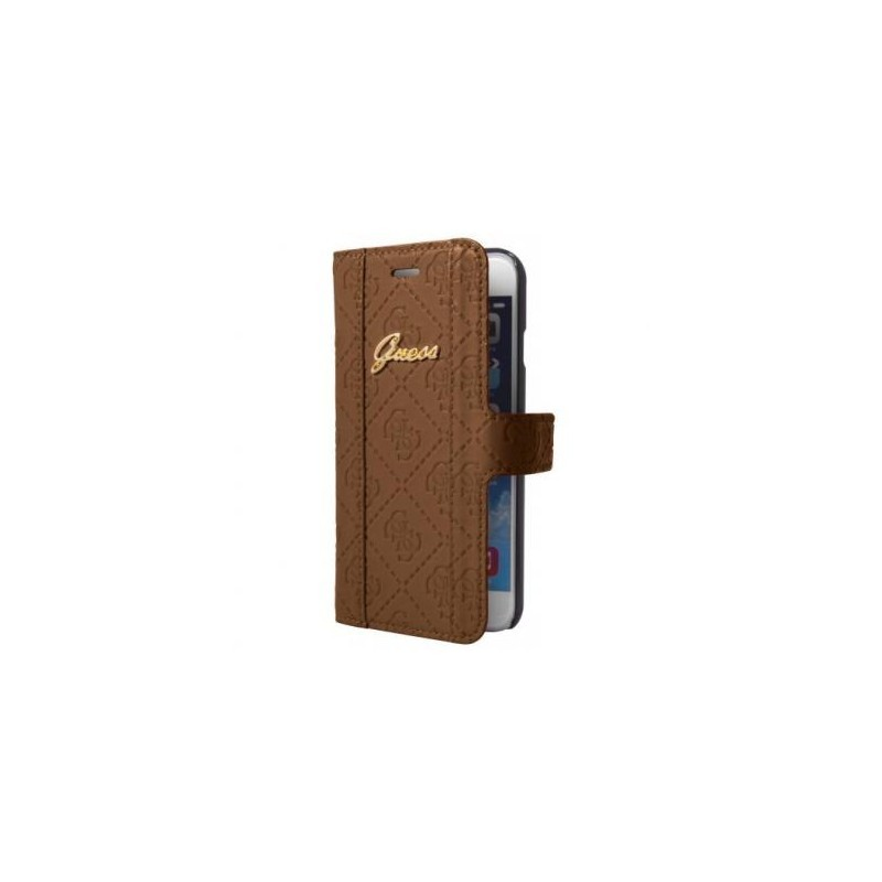 Guess Scarlett iPhone 6(S) Plus Folio Case bruin