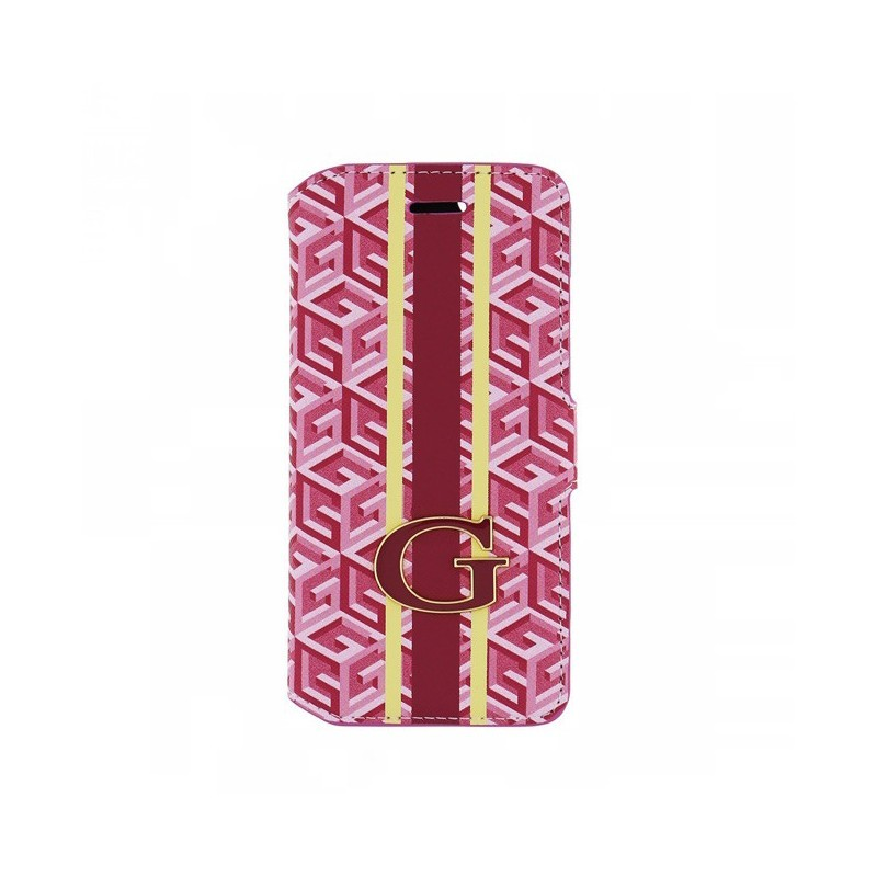 Guess G-Cube Book Case Galaxy S6 rood