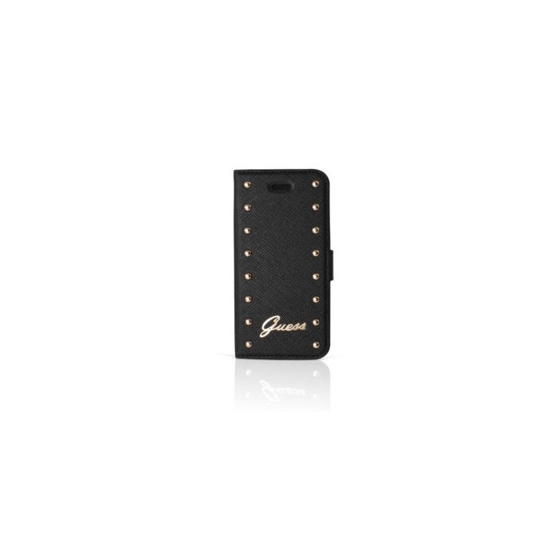 Guess Studded iPhone 6 (S) Plus Folio Case zwart
