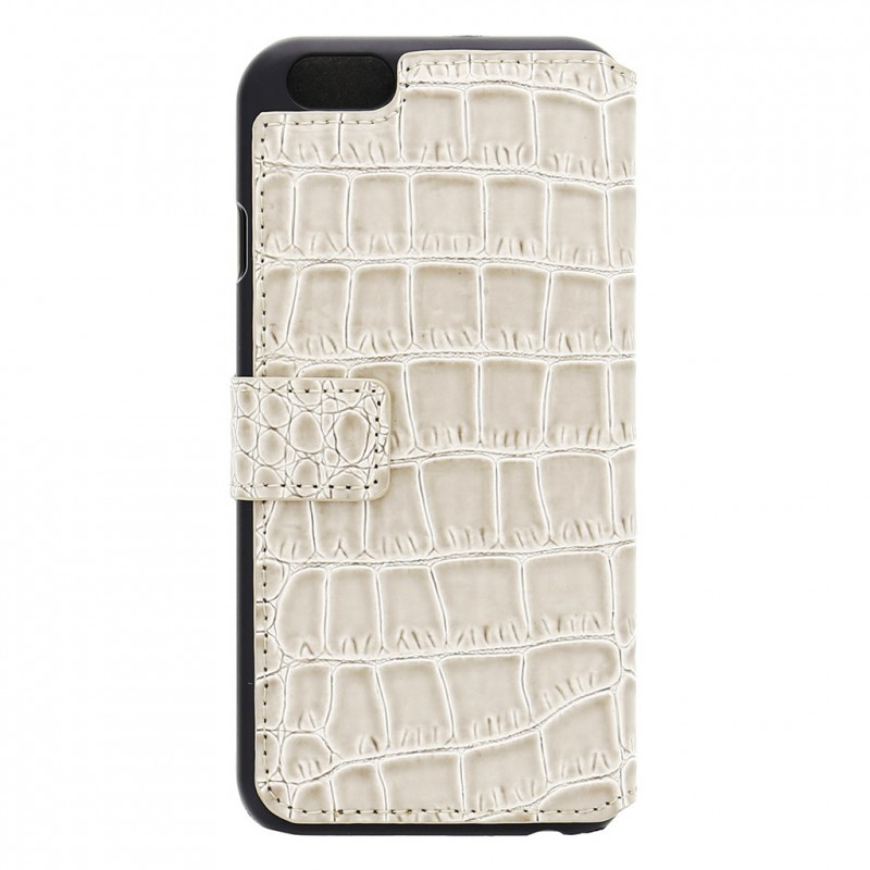 Guess Croco Bookcase iPhone 6(S) beige