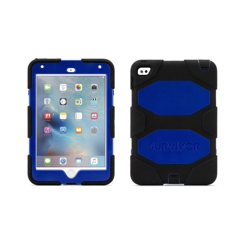 Griffin Survivor hardcase iPad Mini 4 blauw/zwart
