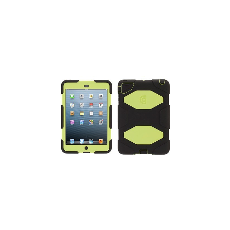 Griffin Survivor Extreme Duty hardcase iPad Mini groen/zwart (lime)