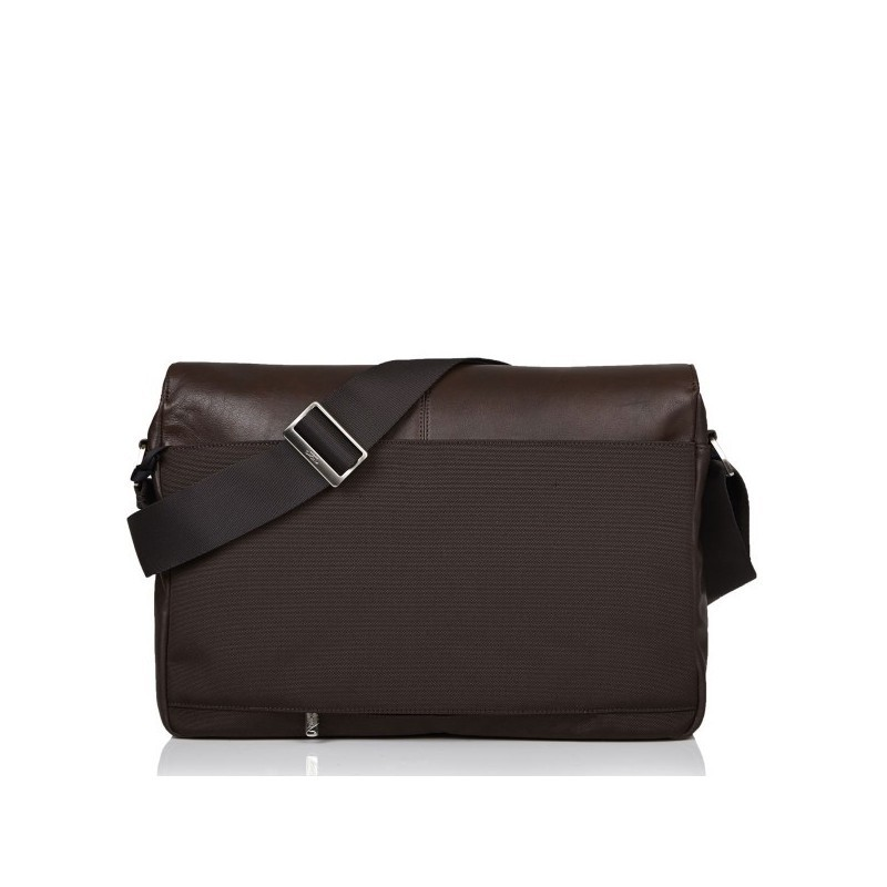 Knomo Kobe Messenger Bag V2 leer bruin