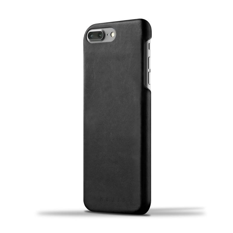 Mujjo Leather Case iPhone 7 Plus zwart