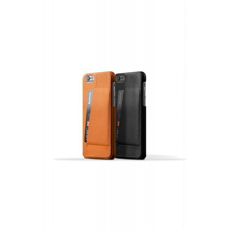 Mujjo wallet leren case 80 iPhone 6 bruin