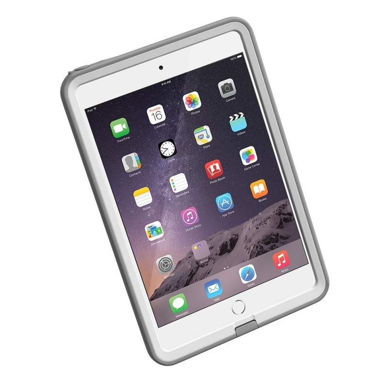 Lifeproof Frē case iPad Mini 1/2/3 wit/grijs