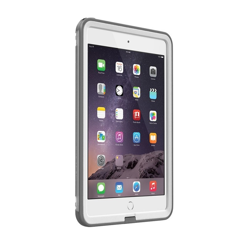 Lifeproof Frē case iPad Mini1/2/3 wit/grijs