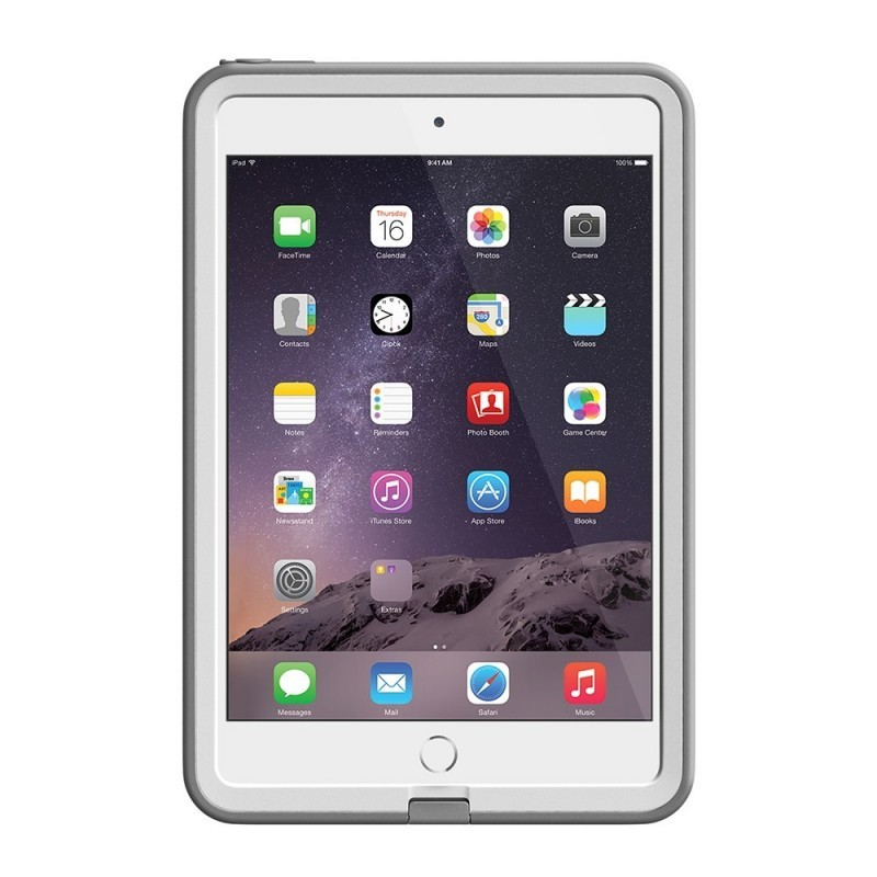 Lifeproof Frē case iPad 1/2/3 Mini wit/grijs