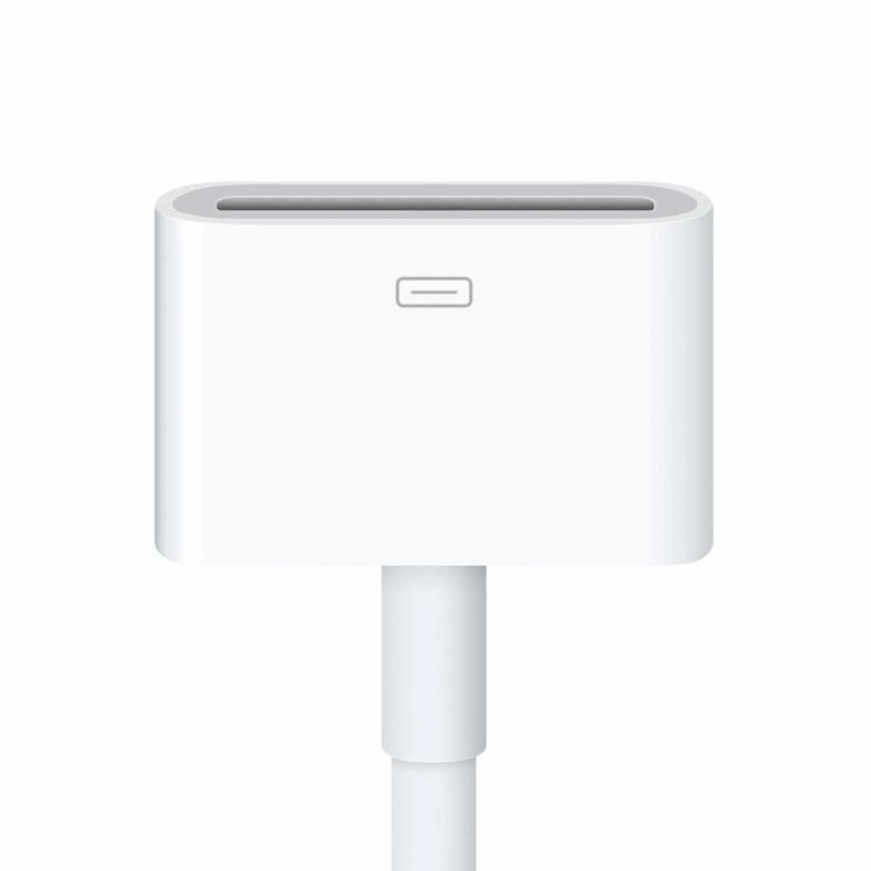 Apple Lightning-naar-dockconnector-(30 pens)-adapter MD824ZM/A